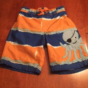 Gymboree Octopus Swim Trunks
